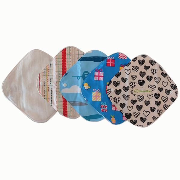 おりもの用布ナプキン(防水シートなし)デザインおまかせ5枚セット+今だけ洗剤のおまけつき! futagochan 03