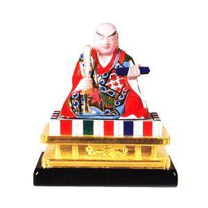 仏像 仏具 木製 彩色 日蓮上人 2.5 日蓮宗・法華宗