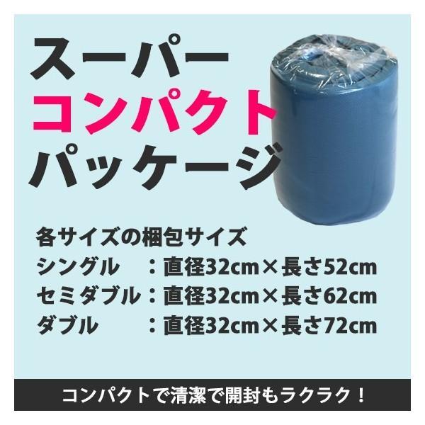 高反発マットレス エイプマンパッド310(シングル)ミッドグレー futon-king 07
