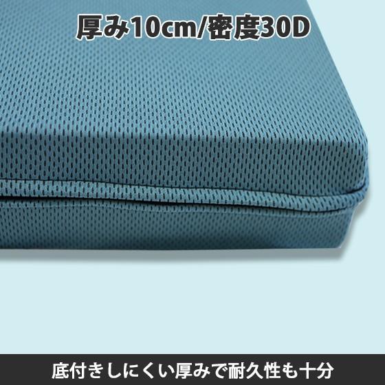 (90日返品保証あり)高反発マットレス エイプマンパッド310(シングル)ミッドブルー futon-king 02
