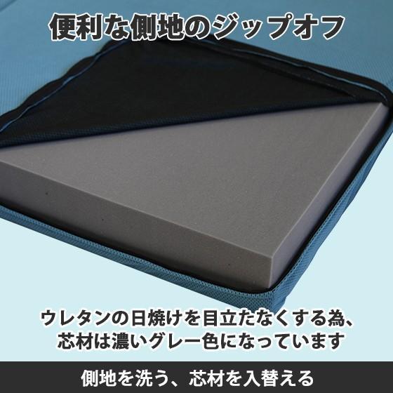 (90日返品保証あり)高反発マットレス エイプマンパッド310(シングル)ミッドブルー futon-king 04
