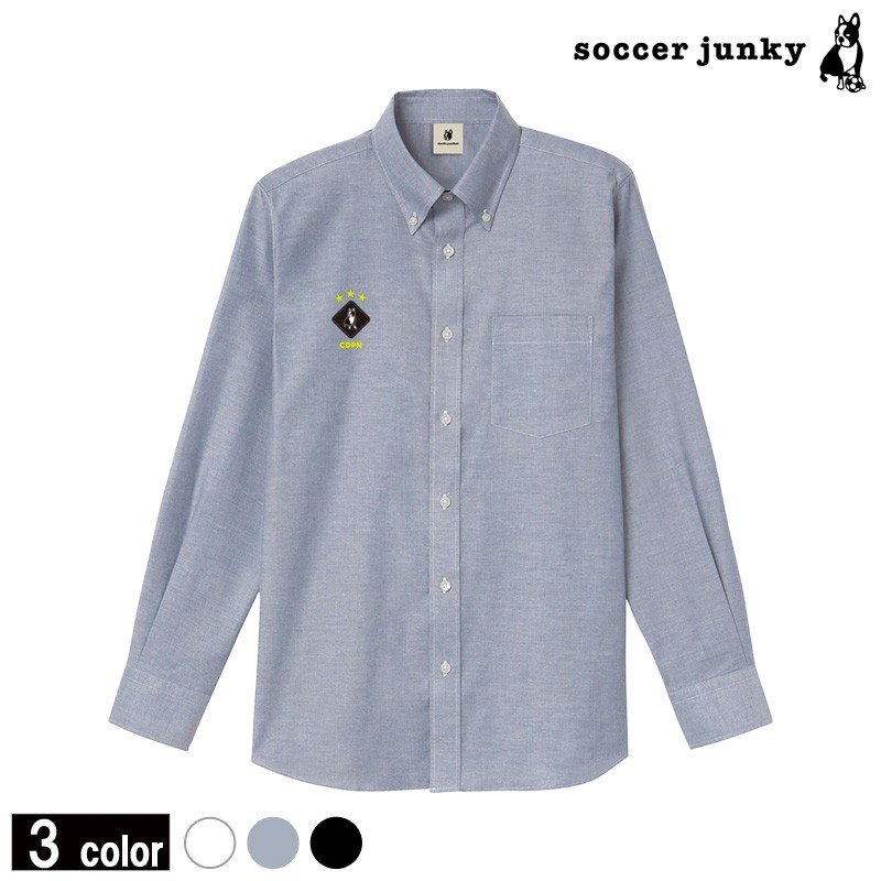 soccerjunky/サッカージャンキー HANABI+7/オックスフォードシャツ (CP18169)