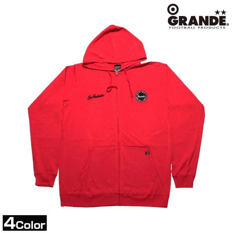 GRANDE/グランデ カラフルボールジップパーカー (GFP10076)