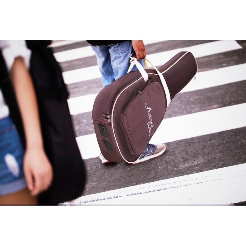 MANATSULIFE ギターケース ギグバッグ アコースティックギター 41インチ クッション付き 2WAY リュック型 手提げ ブラウン 黒 グレー 送料無料|futurelife|13