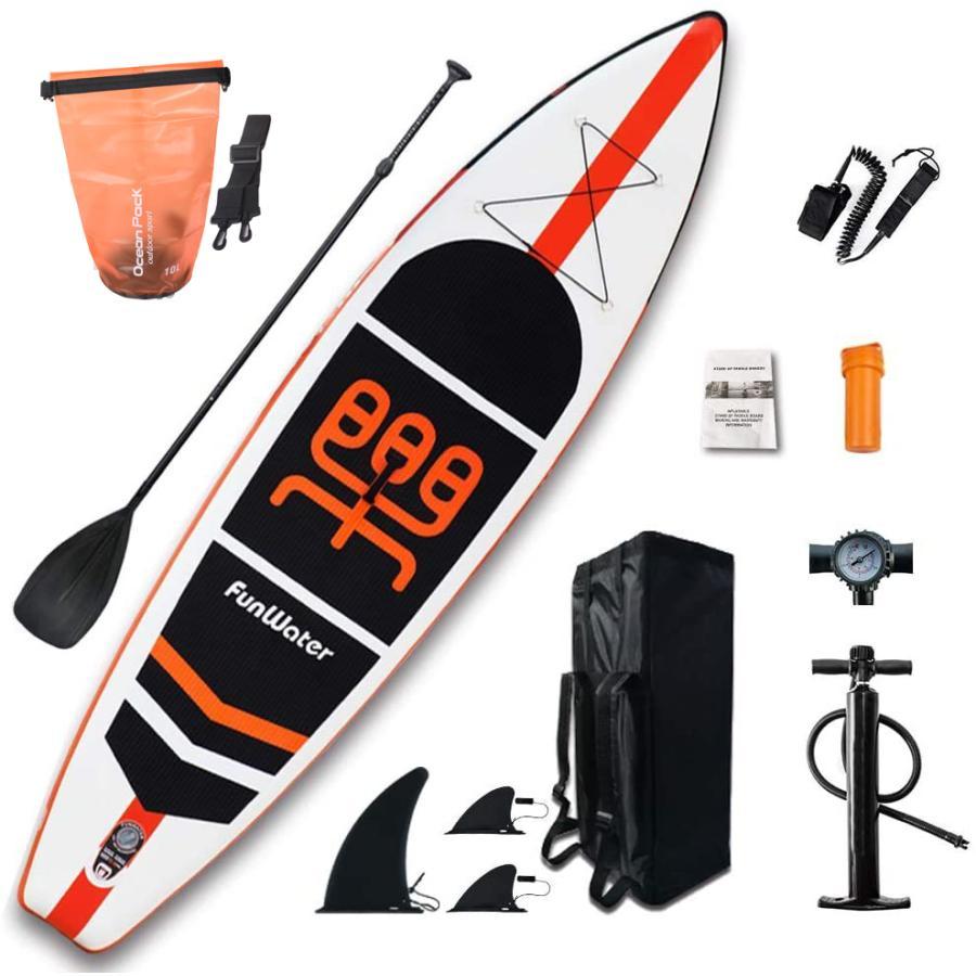 MORGEN SKY サップ SUP インフレータブル スタンドアップパドルボード サップボード 全アクセサリー付き 長335cm 84cm 厚15cm 積載重量150kg 夏 海 釣り SUP06