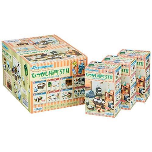 ぷちサンプル なつかし横町3丁目 昭和30年代の物語 BOX商品 1BOX=8個入り、全8種類