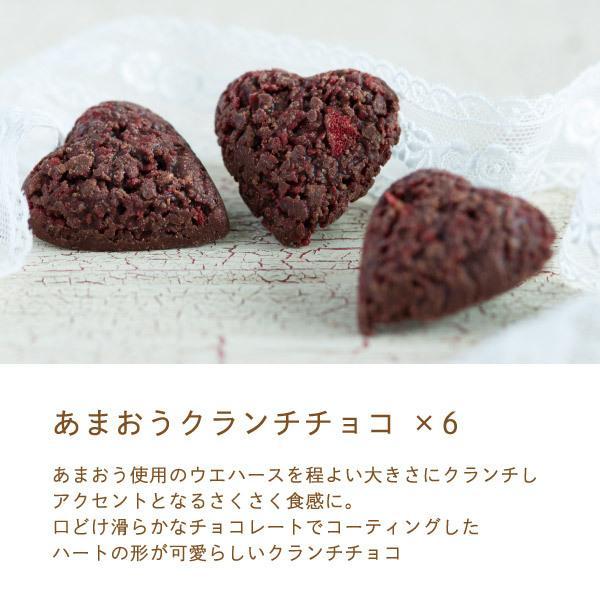 苺のスイーツギフトセットMサイズ 母の日 2021(ミルクバウム サンドクッキー クランチチョコ) あまおう スイーツ ギフト  宅急便発送 内祝 Agift|fuubian|06