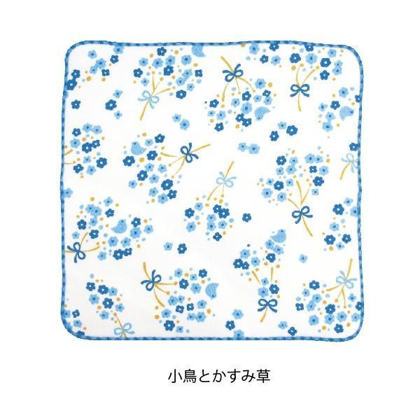 タオル ハンカチ 消臭 清潔 女子 日本製 綿100% かわいい 乙女の可憐なハンカチ|fuzei-kyoto|06