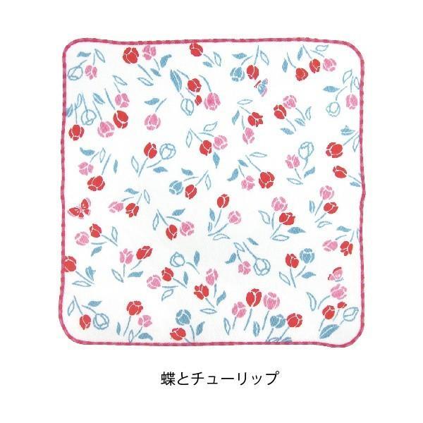 タオル ハンカチ 消臭 清潔 女子 日本製 綿100% かわいい 乙女の可憐なハンカチ|fuzei-kyoto|07