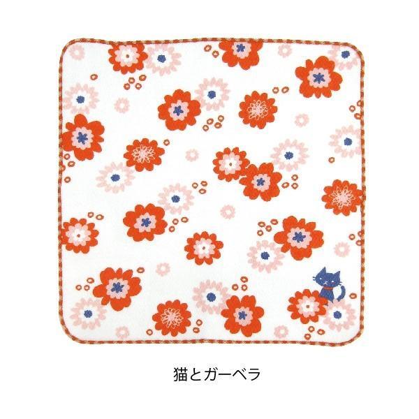 タオル ハンカチ 消臭 清潔 女子 日本製 綿100% かわいい 乙女の可憐なハンカチ|fuzei-kyoto|09