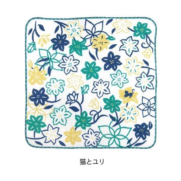 タオル ハンカチ 消臭 清潔 女子 日本製 綿100% かわいい 乙女の可憐なハンカチ|fuzei-kyoto|10
