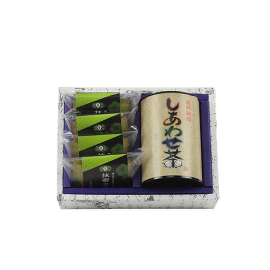 舞妓の茶本舗 煎茶ギフトセット 京の露100g・抹茶フィナンシェ6個入り|g-call|02