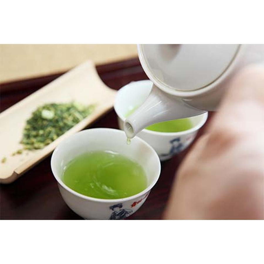 舞妓の茶本舗 煎茶ギフトセット 京の露100g・抹茶フィナンシェ6個入り|g-call|03