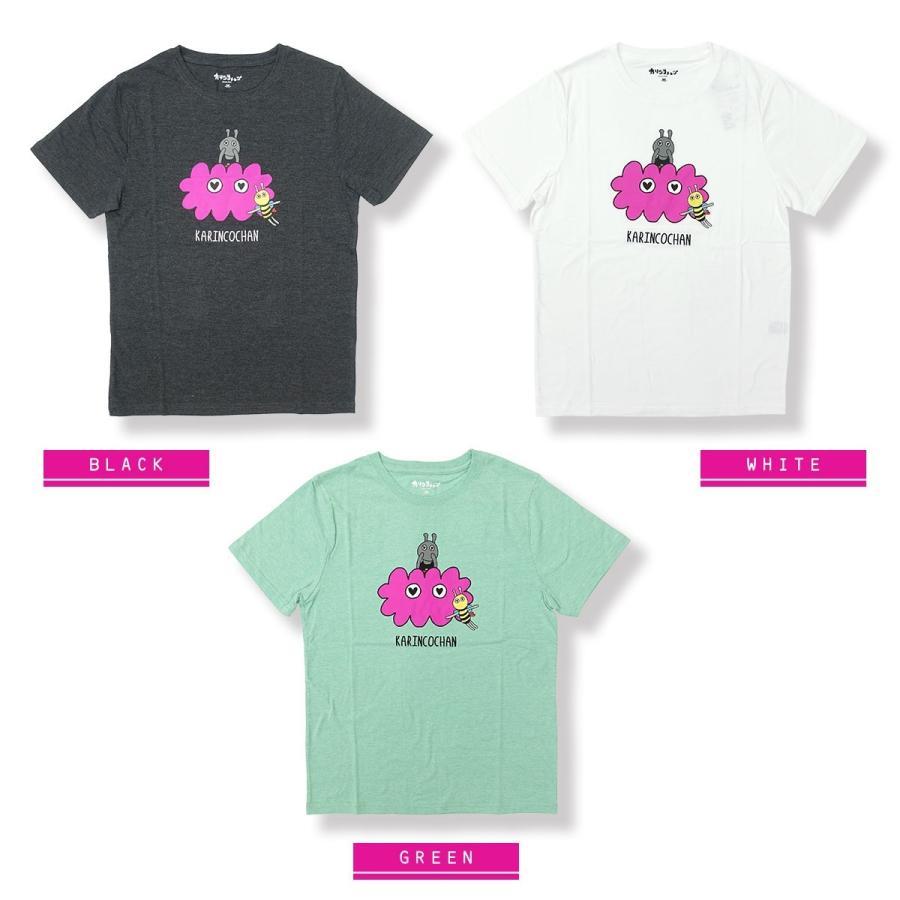 【カリンコチャン】ローズ&チャーリー 刺繍 Tシャツ g-fine 02