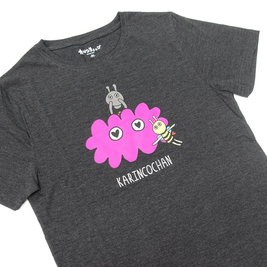 【カリンコチャン】ローズ&チャーリー 刺繍 Tシャツ g-fine 04