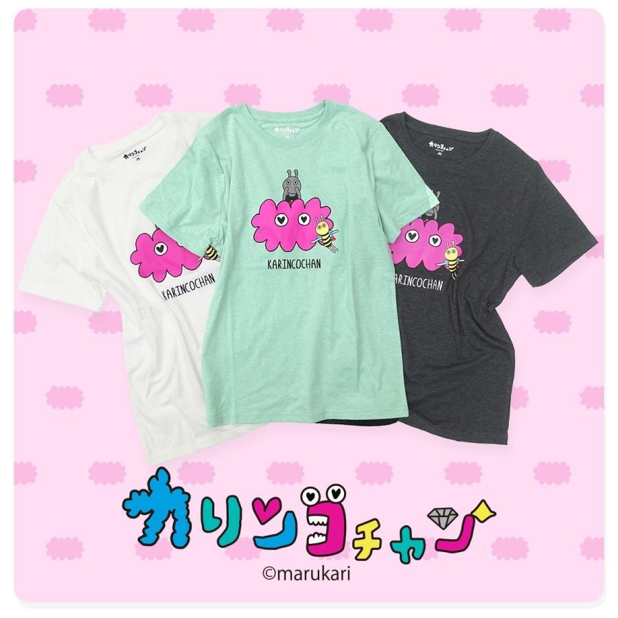 【カリンコチャン】ローズ&チャーリー 刺繍 Tシャツ g-fine 06