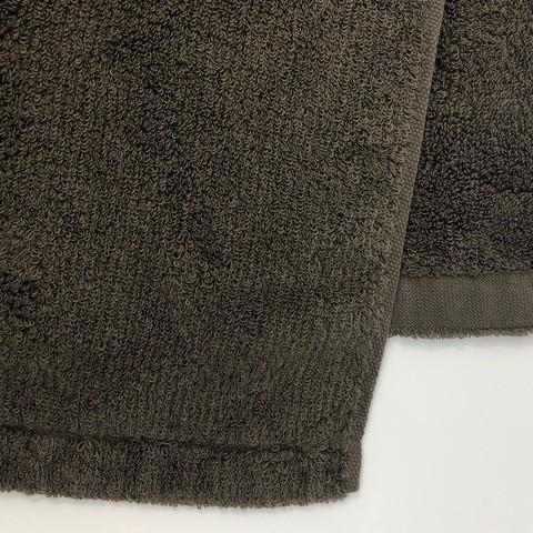 消臭・抗菌・速吸フェイススタオル(今治タオル)<ブラウン> -34cm×80cm- G-MAQ Tech. Products|g-maq