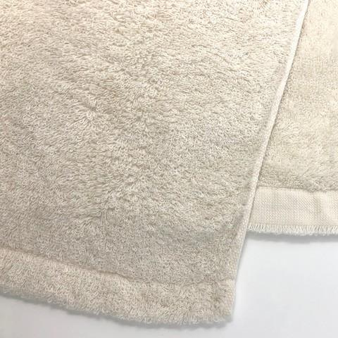 消臭・抗菌・速吸フェイススタオル(今治タオル)<アイボリー> -34cm×80cm- G-MAQ Tech. Products|g-maq