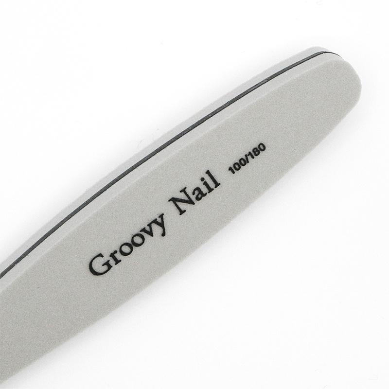 Groovy Nail グルービーネイル ネイルツール スポンジファイル バッファー 100/180 5本セット 【ネコポス対応】 g-nail 02