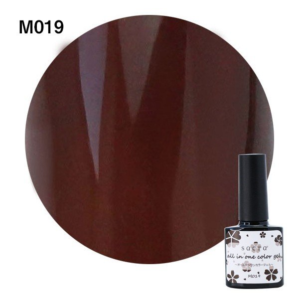 sacra サクラ ジェルネイル オールインワンカラージェル M016〜M021 6ml 【ネコポス不可】 g-nail 05