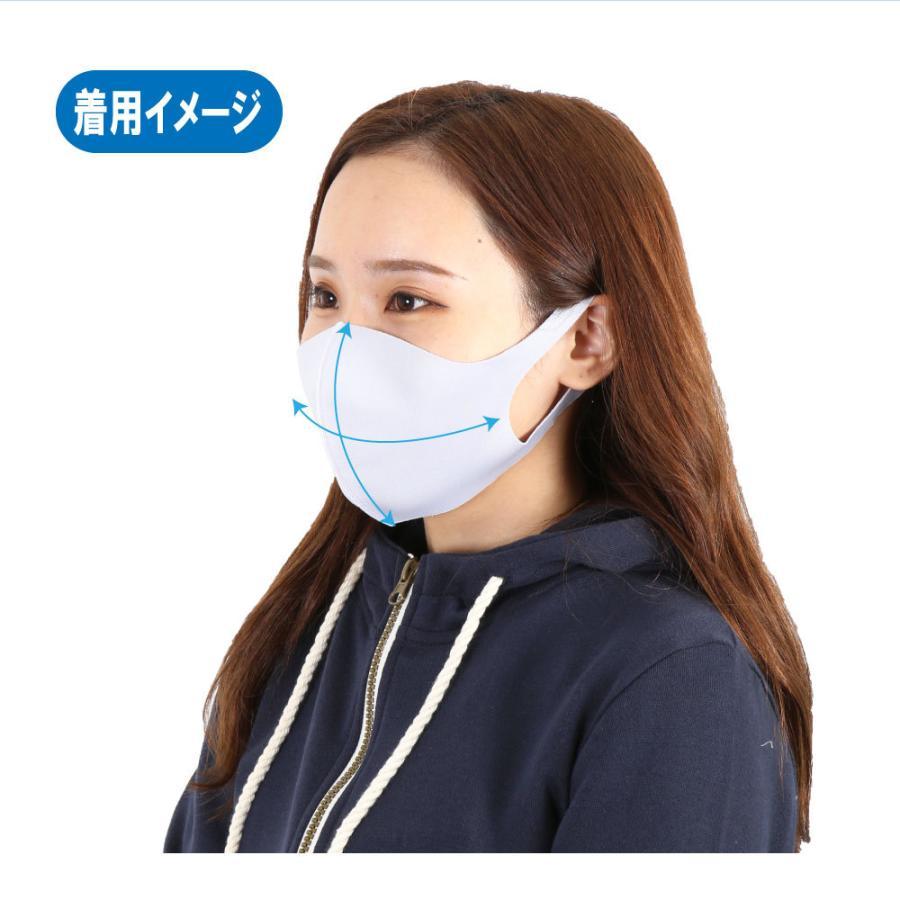 【3枚入り】【2個セット】接触冷感 3枚入 夏マスク クールマスク 接触冷感マスク 布マスク 冷たい 男女兼用 レギュラーサイズ g-passio 04