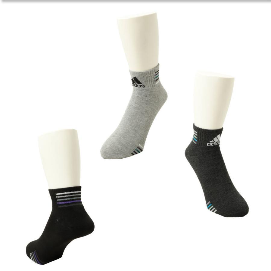 adidas アディダス メンズ ソックス 3足組 靴下 ショート丈 杢柄 無地 カラー シンプル ライン ロゴ スポーツ カジュアル g-passio 04