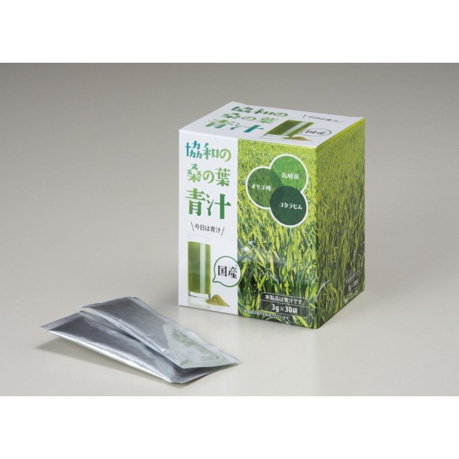 【軽減税率対象】協和桑の葉青汁(3g×30袋)水に溶けやすい顆粒タイプ g-plan-kanda