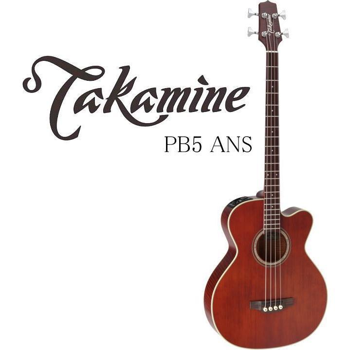 Takamine PB5 ANS タカミネ エレアコ·ベース ハードケース付属