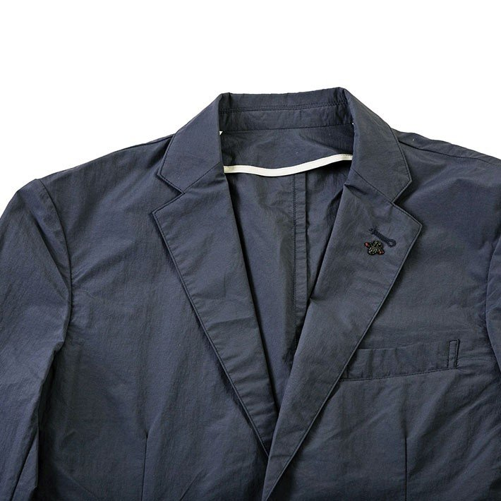 ジャケット メンズ クールビズ 撥水 防汚 テフロン加工 軽量 リンクル ポケッタブル ベージュ ネイビー 190224 g-stage ジーステージ ゴルフウェア g-stage-y 05
