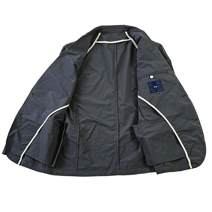 ジャケット メンズ クールビズ 撥水 防汚 テフロン加工 軽量 リンクル ポケッタブル ベージュ ネイビー 190224 g-stage ジーステージ ゴルフウェア g-stage-y 06