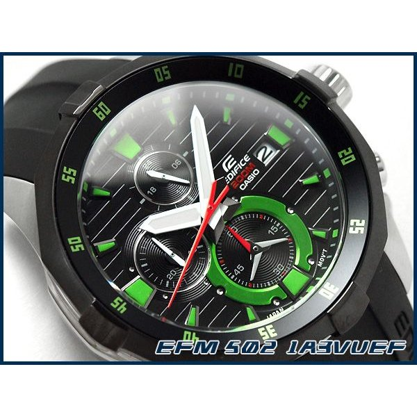 f3007f4375 CASIO EDIFICE カシオ 海外モデル エディフィス メンズ 腕時計 クロノ ...