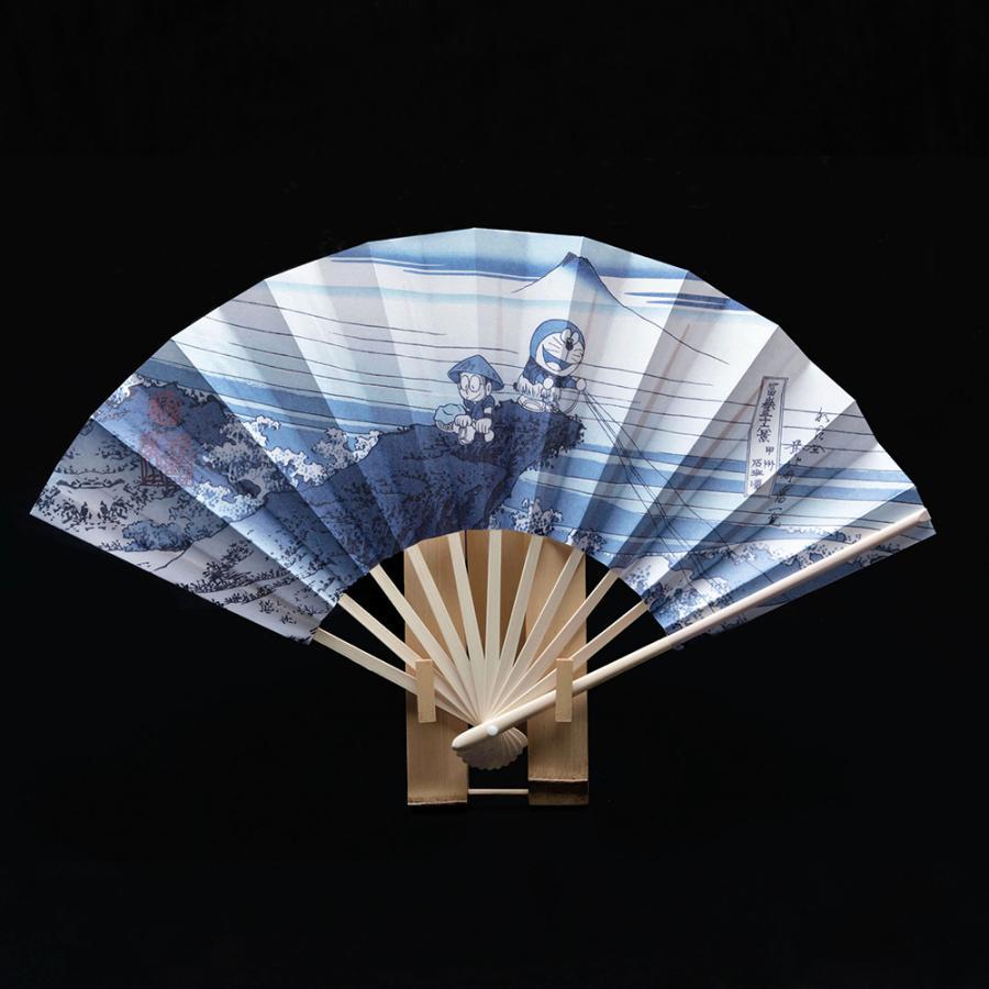 ドラえもん浮世絵扇子 年末年始大決算 甲州石班沢 限定品