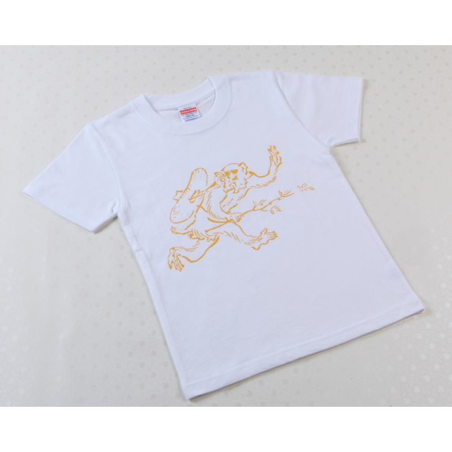 展覧会公式グッズ 特別展 新商品 国宝 鳥獣戯画のすべて 8月上旬以降お届け 白 おすすめ特集 Tシャツ猿