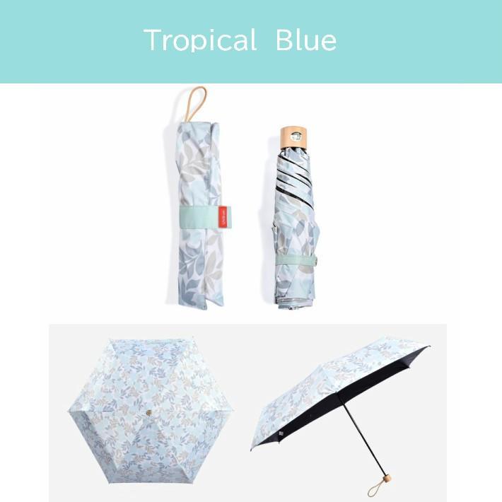 日傘 折りたたみ 完全遮光 UVカット 折りたたみ傘 100% 遮光 レディース 軽量 軽い 晴雨兼用 トロピカル柄 g-winkelen-store 10
