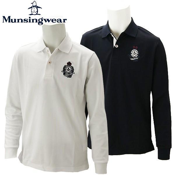 マンシングウェア ゴルフウェア メンズ 長袖シャツ MGMOGB20 Munsingwear 2019秋冬