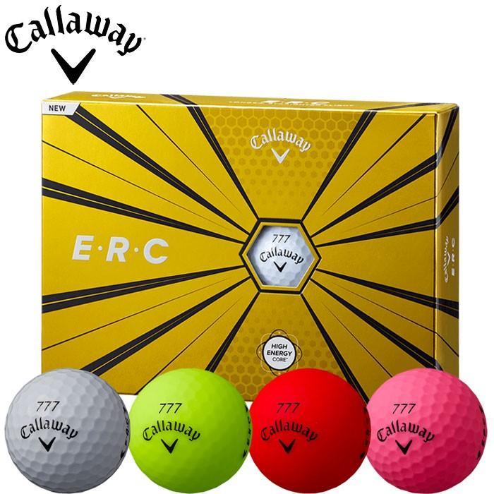 【4ダースで送料無料】 キャロウェイ ゴルフ 19 E・R・C ゴルフボール 1ダース 12P 2019年モデル ERC