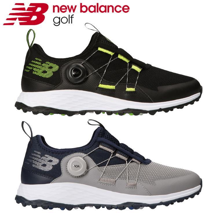 ニューバランス ゴルフ フレッシュ フォーム MGB4300 メンズ 期間限定特価品 日本正規品 ボア 2021モデル 最安値に挑戦 Boa スパイクレス ゴルフシューズ