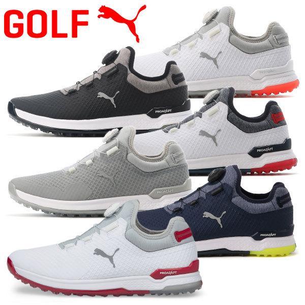 プーマ ゴルフ 保証 プロアダプト アルファキャット ディスク メンズ 定価 スパイクレス ボア ゴルフシューズ 376043