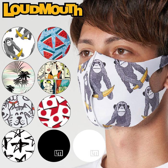 メール便送料無料 ラウドマウス 3Dマスク 内祝い 洗える水着素材 UVカット UPF50+ 全品最安値に挑戦 接触冷感 ストレッチ 990703