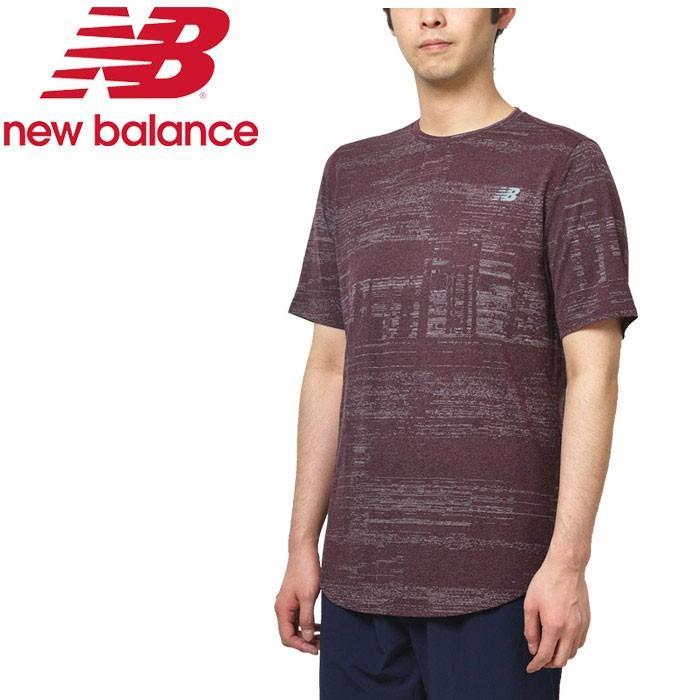 ○19FW New Balance(ニューバランス) QSPEED ブリーズショートスリーブ AMT93250-HNA メンズ