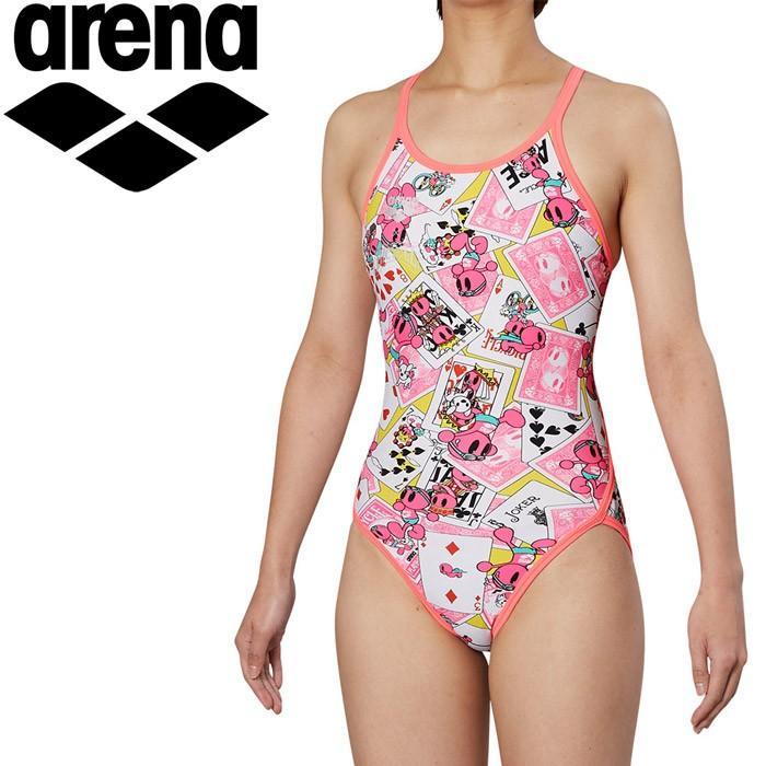 アリーナ 水泳 スーパーフライバック トレーニング 水着 レディス FSA-9609W-YLPK