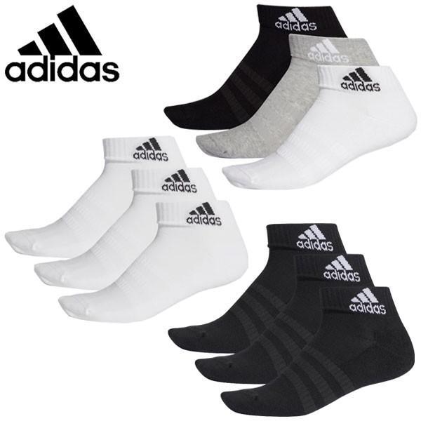 メール便対応 アディダス 別倉庫からの配送 靴下 ショートソックス 3足組 メンズ DZ9379 高品質 DZ9365 レディース DZ9364 FXI63