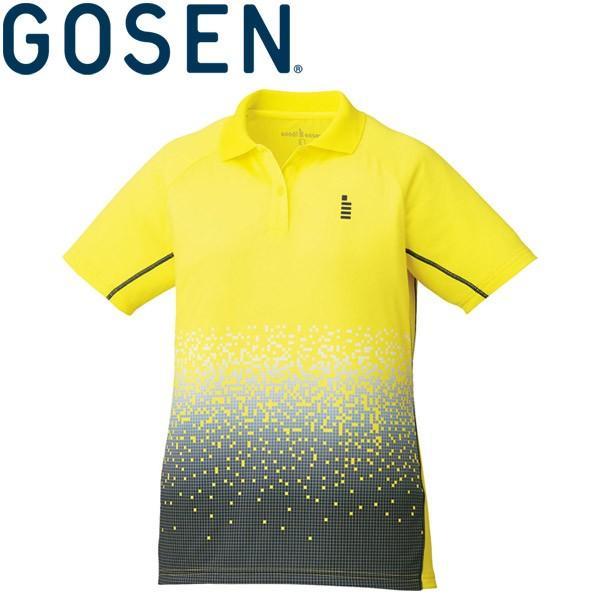 メール便対応 ゴーセン テニス ウェア 半袖ゲームシャツ レディース T1703-51