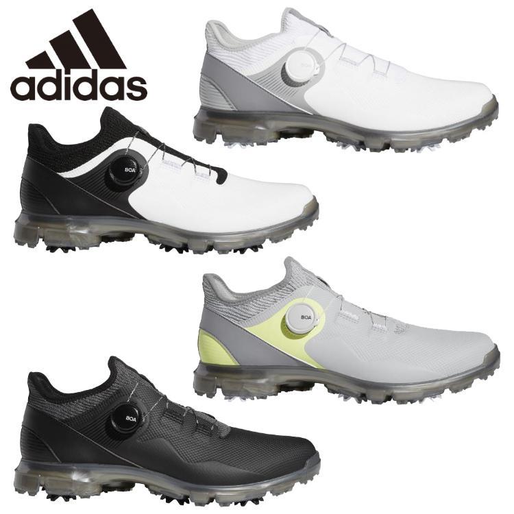 アディダス アルファフレックス 21 激安超特価 ボア メンズ LGD01 マート Boa ゴルフシューズ 2021モデル