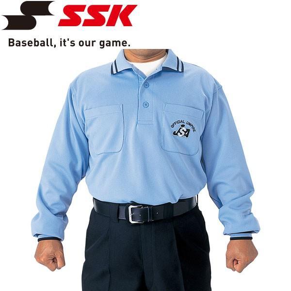 メール便対応 エスエスケイ SSK JSA長袖審判ウェア ソフトボール審判用ウェア UPW021