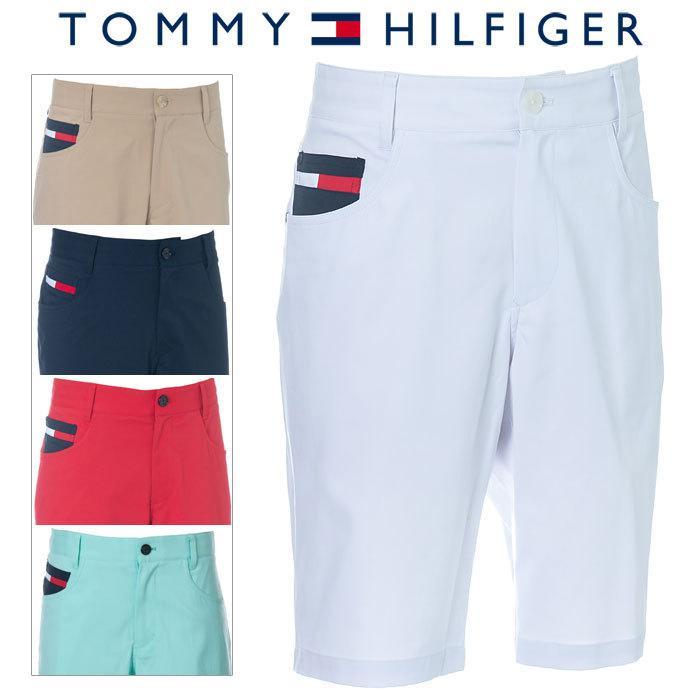 トミーヒルフィガー 贈呈 在庫あり ショートパンツ メンズ ゴルフウェア 春夏 THMA048