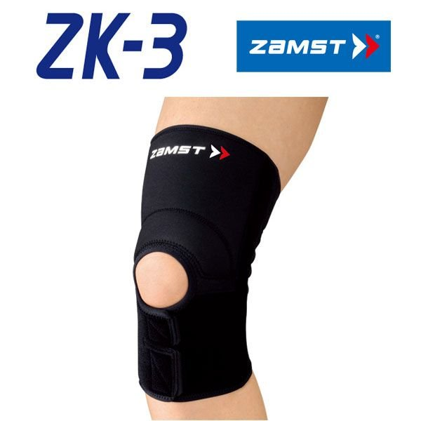 ザムスト ZK-3 ヒザ用サポーターミドルサポート 左右兼用 返品不可