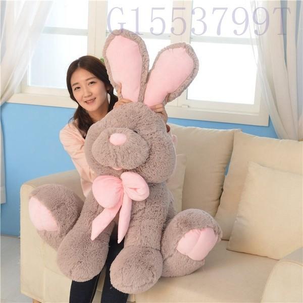 90cmウサギぬいぐるみウサギのヌイグルミ誕生日クリスマス子供部屋抱き枕クッションインテリア