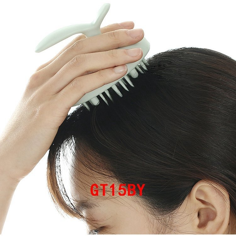 ヘアケアヘアブラシ女性の間違った洗い方を改善するシャンプーブラシフケかゆみ頭皮洗浄マッサージ|g1553799t|08