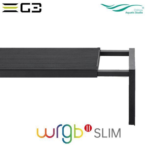 送料無料 Chihiros WRGBII Slim 30 水草育成用LED照明 30-45cm水槽用 g3aqualab 04